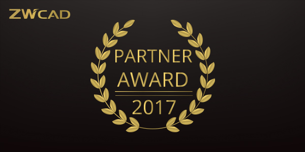 partner award zwcad 2017